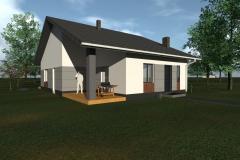 Rozbudowa domu pod Zwoleniem